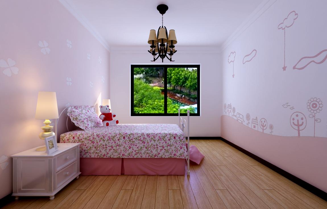 欧式卧室涂贝壳粉图片