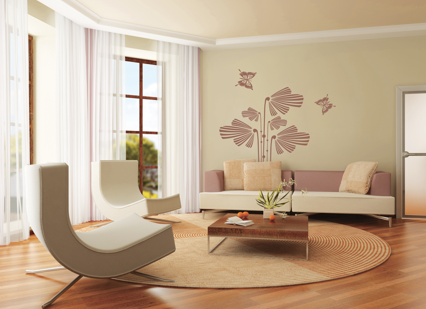 电视墙往往是家装的点睛之笔,而贝壳粉电视背景墙尤其出彩。不仅在外观方面更加美观,而且因为贝壳粉天然多孔的特点,能让音效变得更加立体,同时,贝壳粉是无机材料,不起静电不吸灰尘,所以作为电视背景墙,贝壳粉的优势更加明显。
