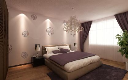 背景墙 房间 家居 起居室 设计 卧室 卧室装修 现代 装修 417_261